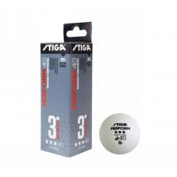 TT BALL CUP ABS 3 PACK WHT