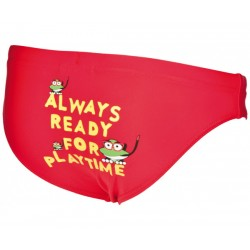 ARENA WATER TRIBE KIDS BRIEF RED