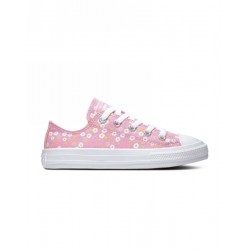 CHUCK TAYLOR ALL STAR FLORAL OX PEONY PINK/TOPAZ GOLD/WHITE
