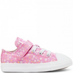 CHUCK TAYLOR ALL STAR 1V FLORAL OX PEONY PINK/TOPAZ GOLD/WHITE