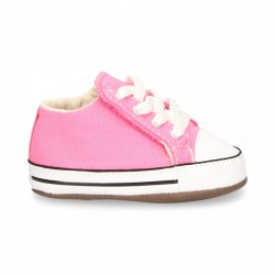 CHUCK TAYLOR ALL STAR CRIBSTER CANVAS COLOR PINK/NATURAL IVORY/WHITE