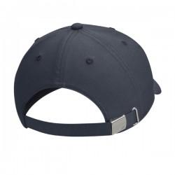 Y NK H86 CAP METAL SWOOSH BLACK/METALLIC SILVER