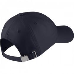 Y NK H86 CAP METAL SWOOSH OBSIDIAN/METALLIC SILVER