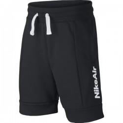 B NSW NIKE AIR FT SHORT BLACK/BLACK/BLACK/WHITE