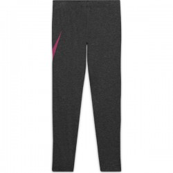 G NSW FAVORITES GX LEGGING BLACK HEATHER/FIREBERRY