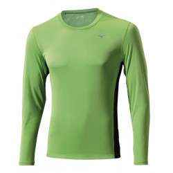 DRY LITE CORE LS TEE GREEN FLASH