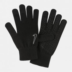 NIKE KNITTED TECH AND GRIP GLOVES 2.0 BLACK/BLACK/WHITE